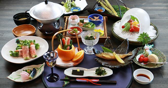 山菜づくしプラン(春〜秋)